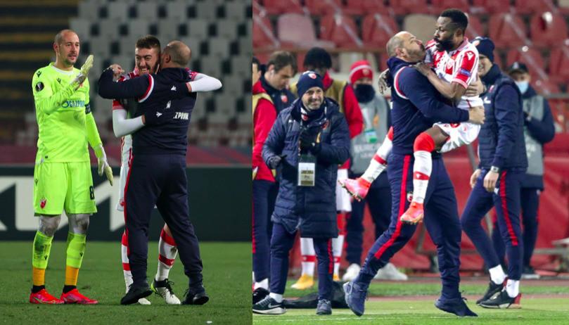 Stella Rossa, Stankovic scatenato dopo i gol al Milan