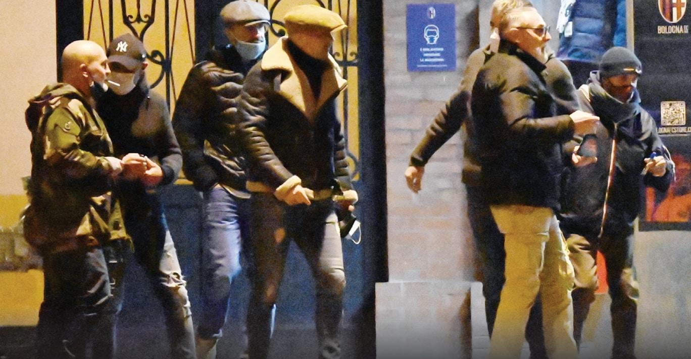 Mihajlovic, le foto del confronto con gli ultras del Bologna