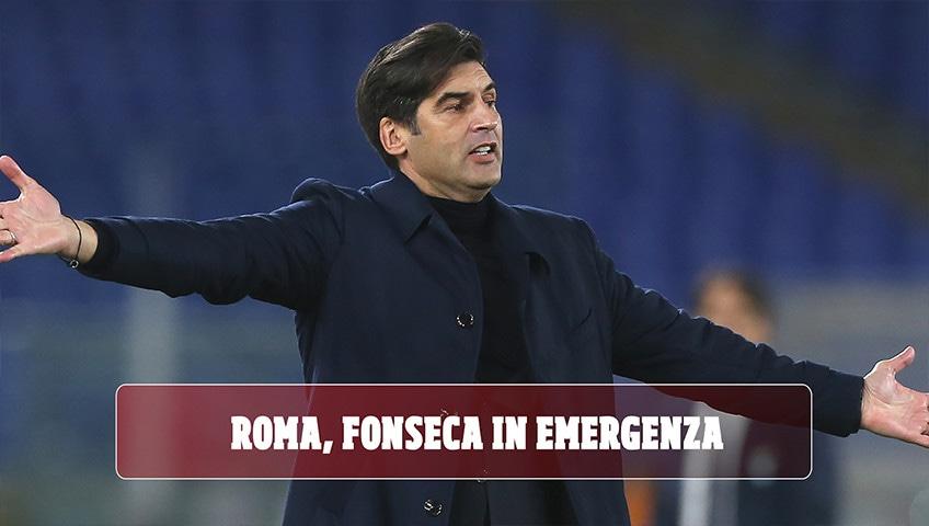 Roma, Fonseca in emergenza