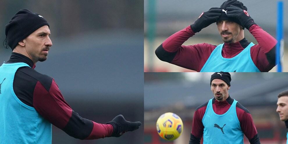 """Milan, Ibrahimovic """"scalza"""" Pioli: è già in clima derby"""