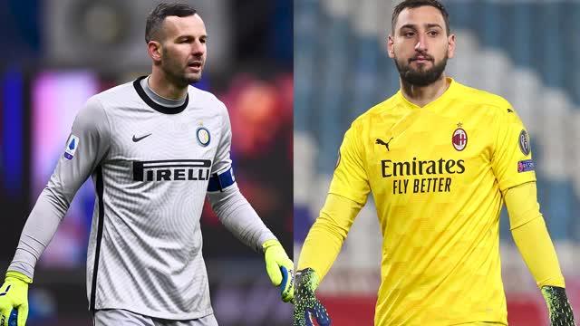 Verso Milan-Inter - Gigio para di più, ma Handa con i piedi...