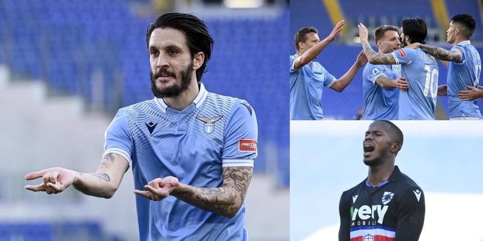 Lazio, Luis Alberto fa Spiderman: Samp battuta 1-0