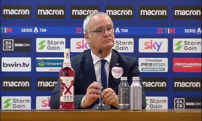 """Ranieri: """"Parlare di Europa sarebbe come prendere in giro i tifosi"""""""