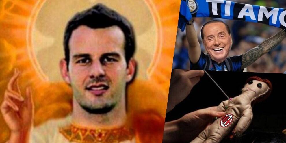 Milan-Inter: sui social si ride di Handanovic, Ibra e Lukaku