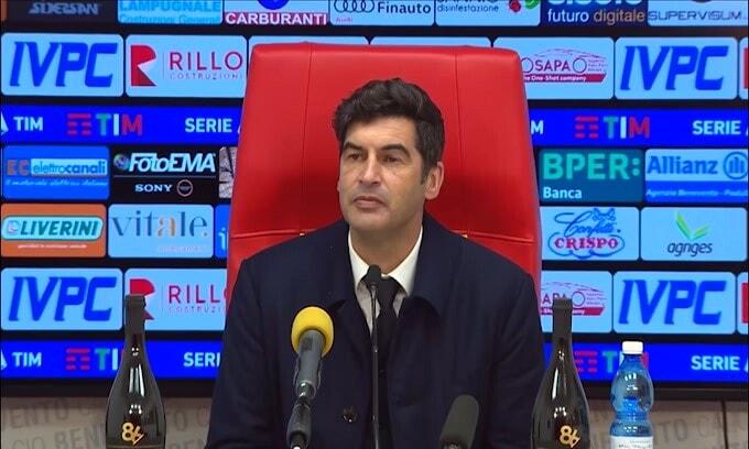 """Fonseca: """"L'uomo in meno del Benevento non ha cambiato la gara"""""""