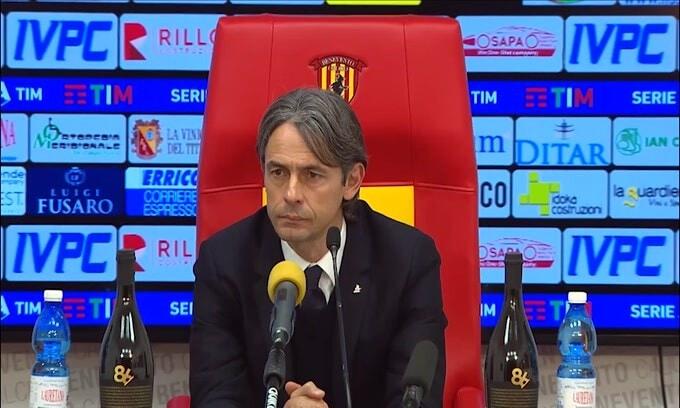 """Inzaghi: """"Prima dell'espulsione pensavo di vincerla"""""""