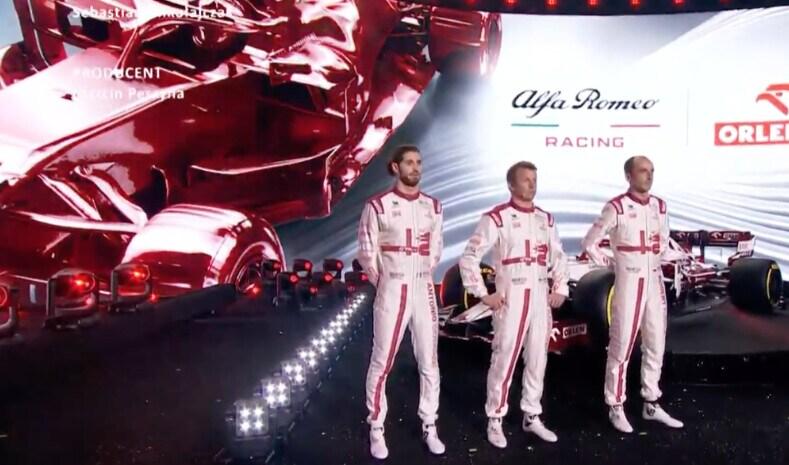 F1, la nuova Alfa Romeo C41 per il Mondiale 2021