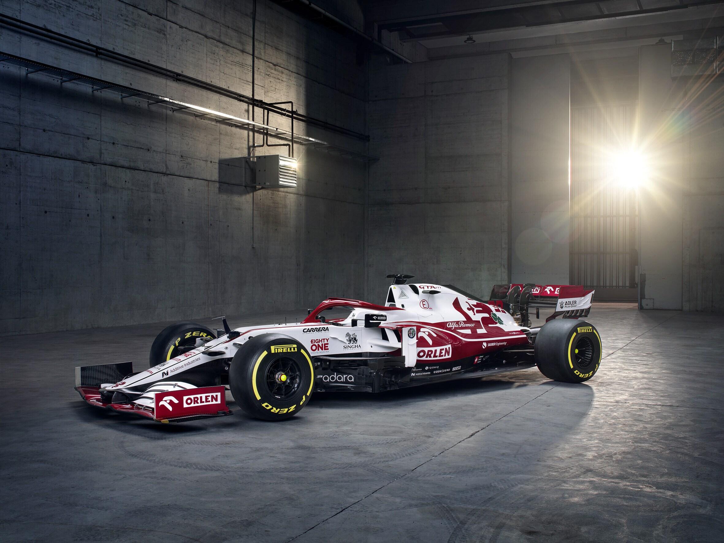 Alfa Romeo C41, ecco la monoposto di Raikkonen e Giovinazzi
