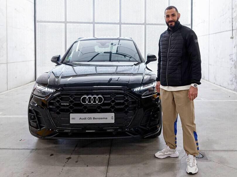 Audi, le auto consegnate ai giocatori del Real Madrid