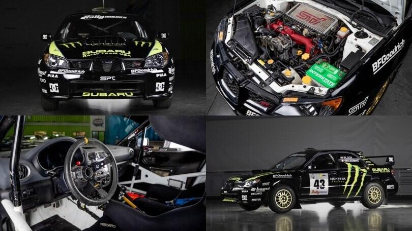 Ken Block vende la sua Subaru Impreza WRX STI