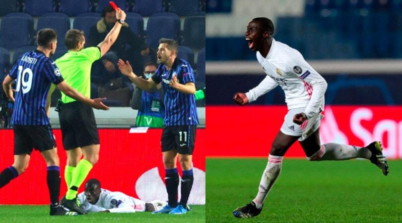 Freuler espulso, Mendy decisivo: Atalanta ko con il Real Madrid