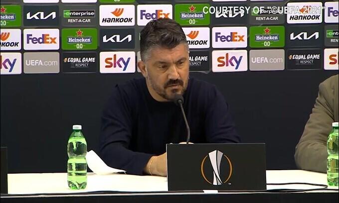 """Gattuso: """"Sono il primo responsabile"""""""