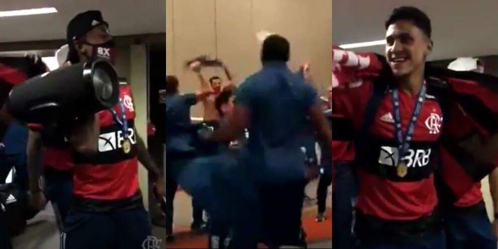 Flamengo campione del Brasile, festa pazzesca tra musica e balli