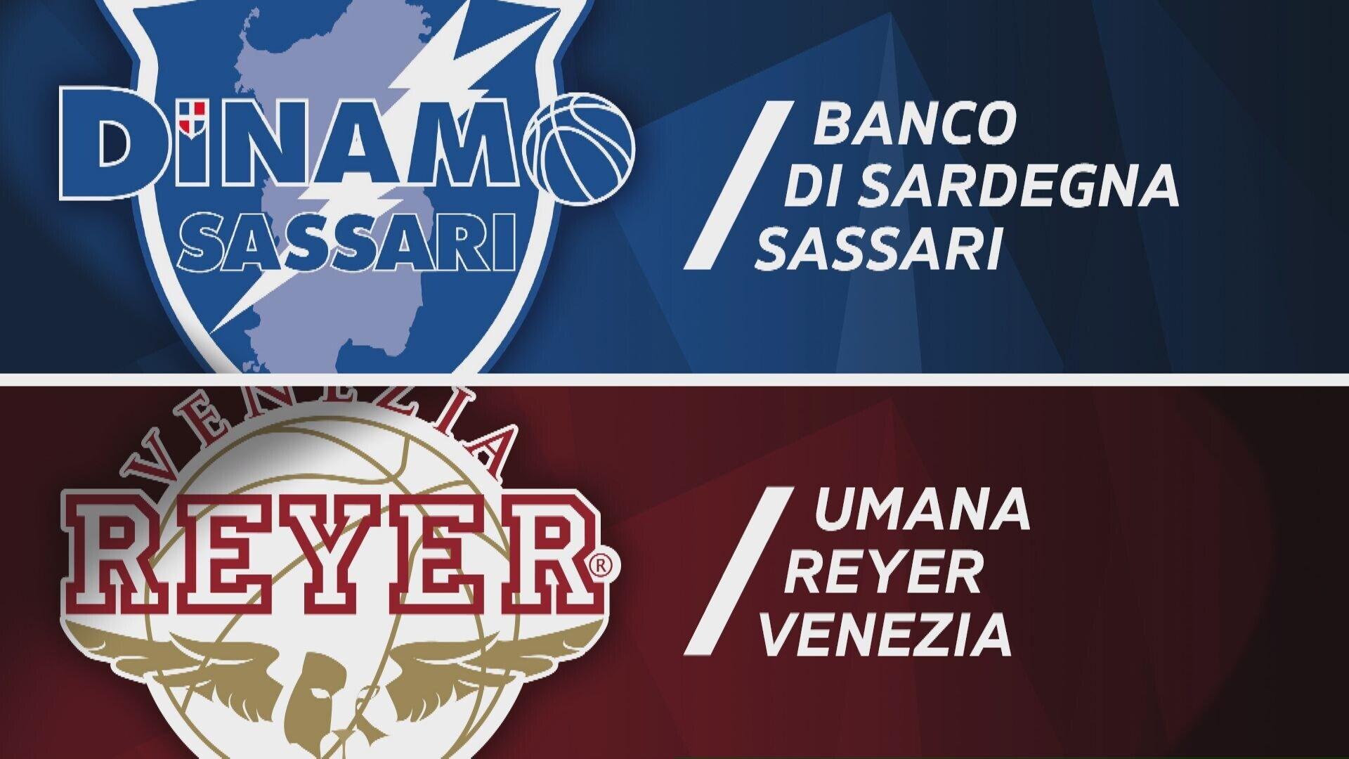 Banco di Sardegna Sassari - Umana Reyer Venezia 95-88