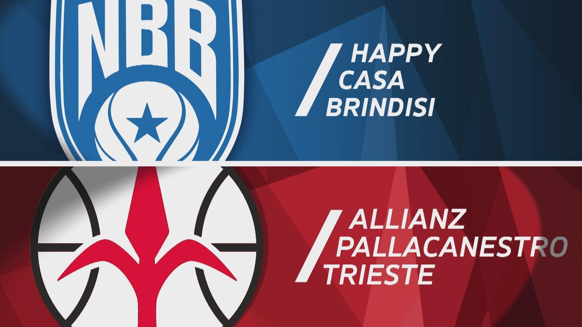 Happy Casa Brindisi - Allianz Pallacanestro Trieste 81-74