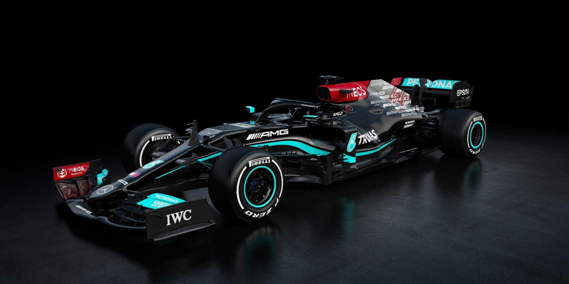 Mercedes F1, ecco la nuova W12 di Hamilton e Bottas