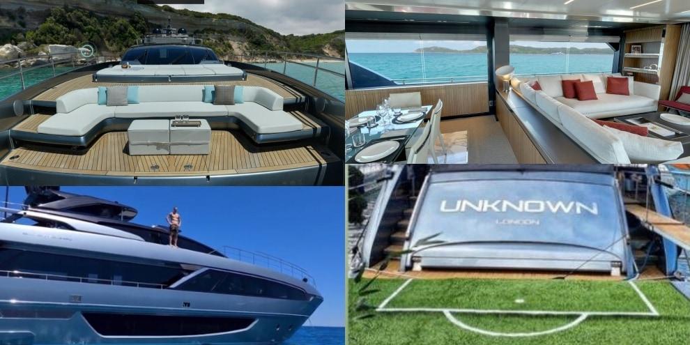 Ibrahimovic in vacanza sul suo yacht mozzafiato