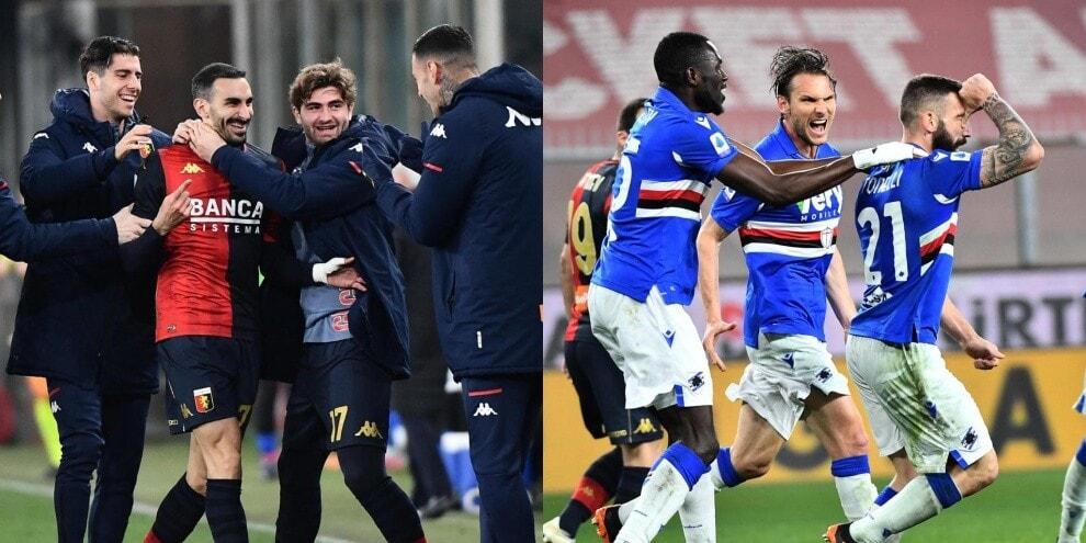 Genoa-Sampdoria è il derby dei difensori: Zappacosta-Tonelli, 1-1