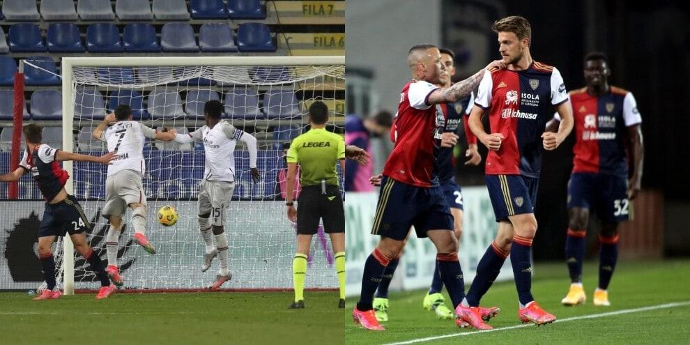 Rugani, primo gol con il Cagliari: decisivo contro il Bologna