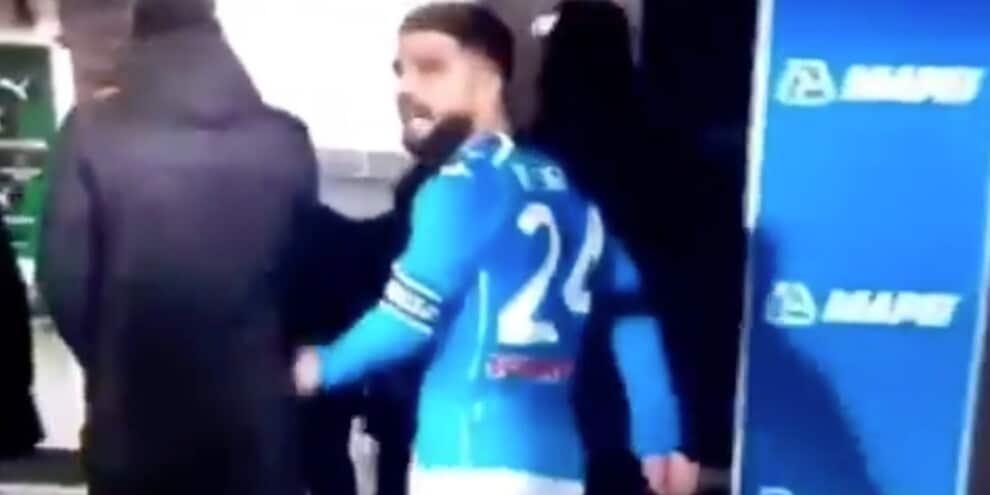 """Insigne furioso con il Napoli: """"Squadra di m..."""""""