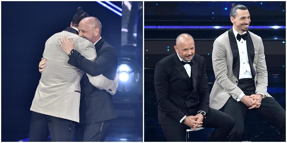 Ibrahimovic e Mihajlovic, esibizione show a Sanremo!
