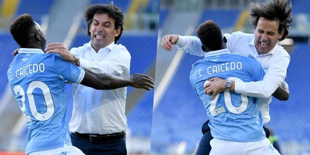 Caicedo, ricordi? Quel gol alla Juve e l'abbraccio a Inzaghi