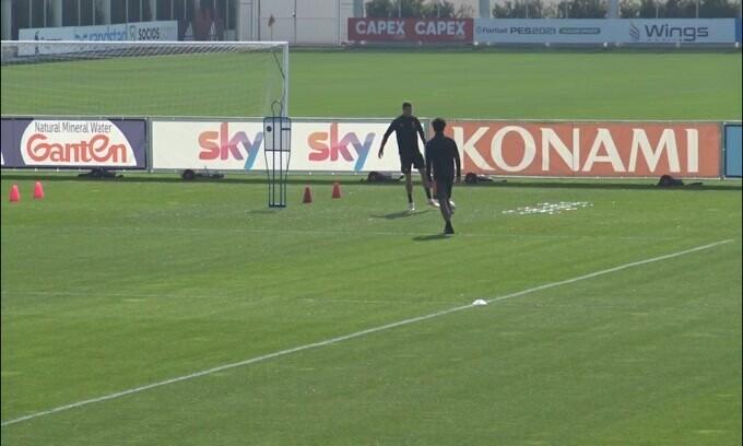 Juventus, CR7 è pronto e scalda i motori