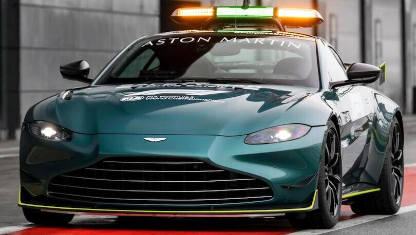 Aston Martin Vantage, la nuova Safety Car della F1