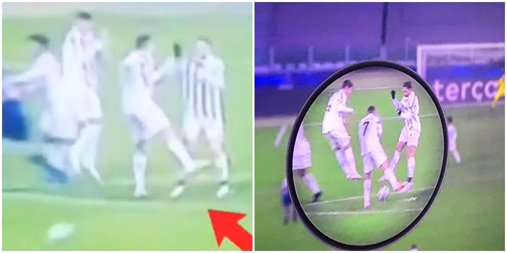 Juve-Porto, Cristiano Ronaldo e il 2-2 sotto le gambe