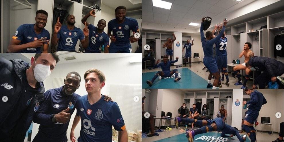 Il Porto elimina la Juve dalla Champions: che delirio negli spogliatoi!