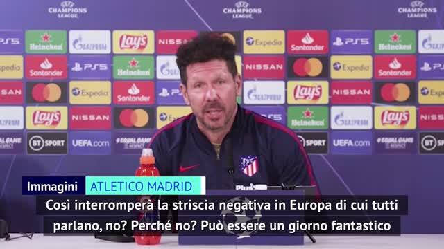 """Simeone: """"Sarà una giornata fantastica"""""""