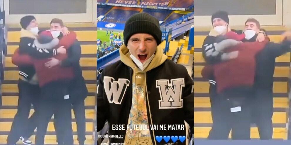 Chelsea, la festa Champions in tribuna diventa virale!