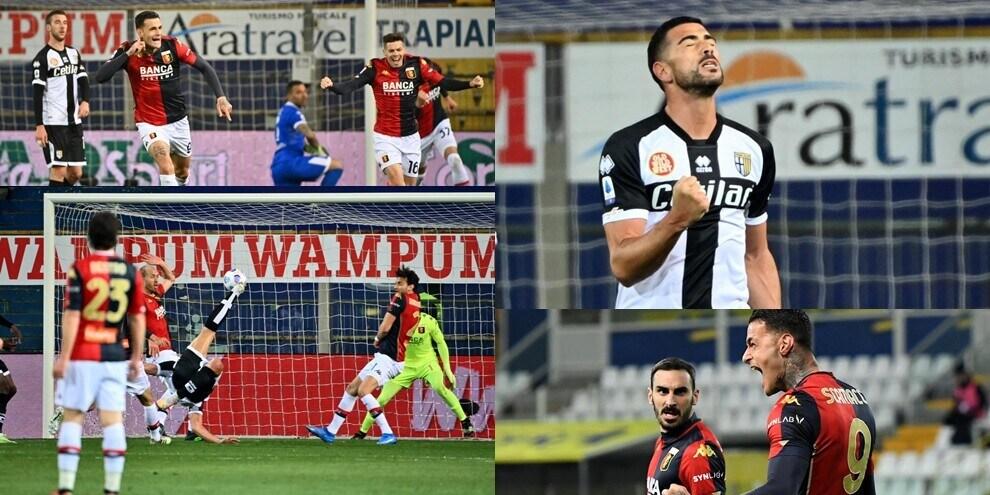 Capolavoro di Pellè, poi si scatena Scamacca: 2-1 Genoa