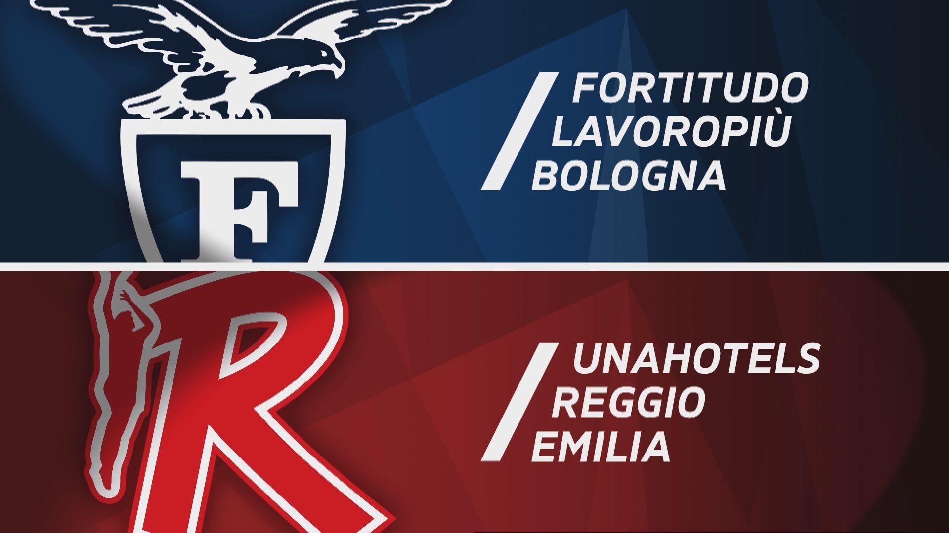 Fortitudo Lavoropiù Bologna - UNAHOTELS Reggio Emilia 71-68