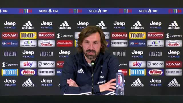 """Pirlo sul rinvio: """"Inter anche fortunata"""""""