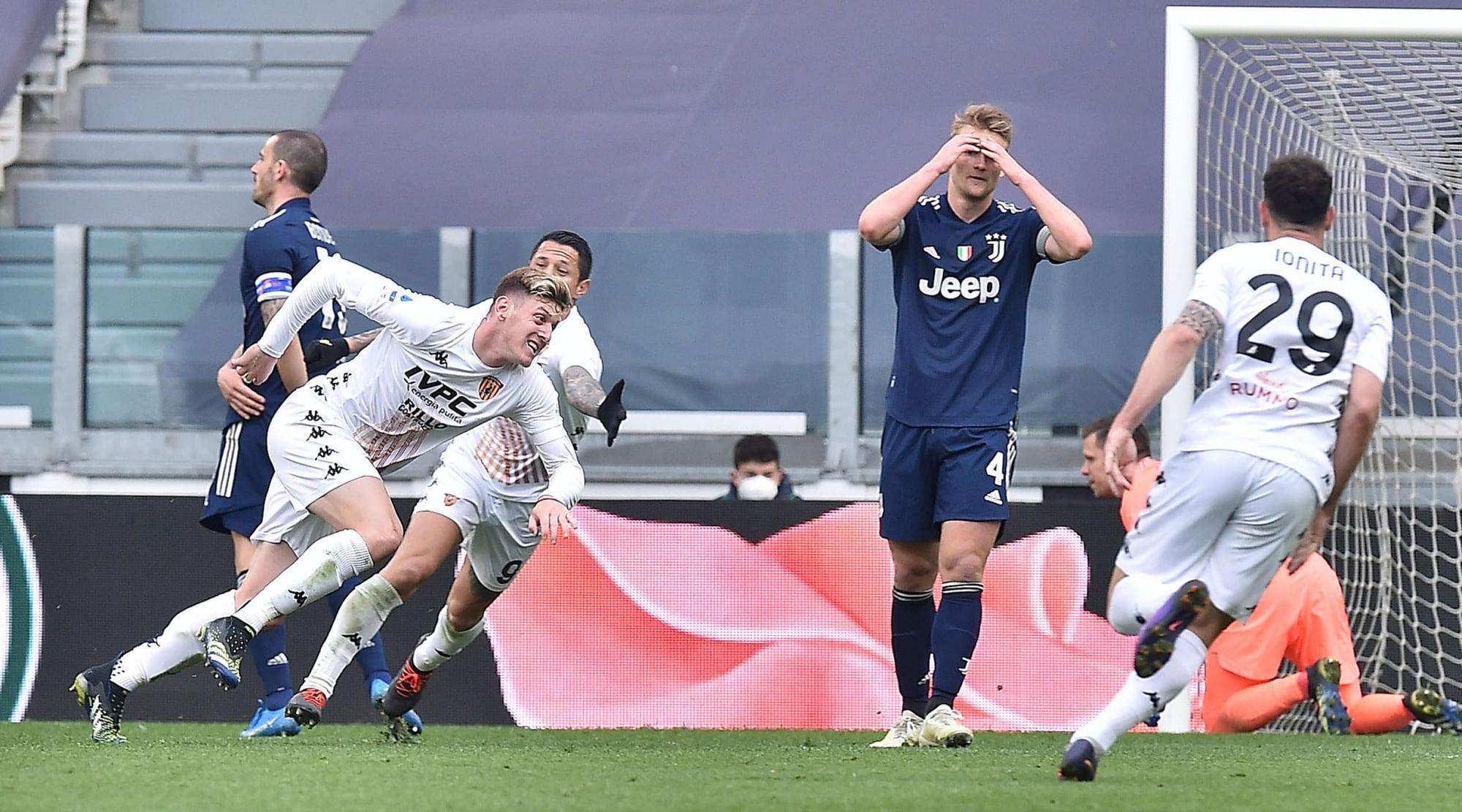 Benevento che impresa! Gaich piega la Juve all'Allianz Stadium
