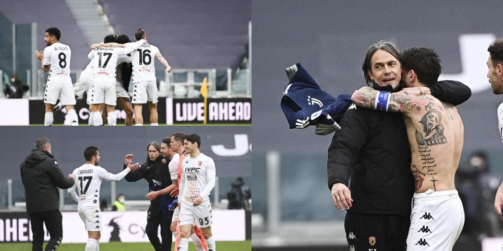 Il Benevento di Inzaghi piega la Juve, che festa allo Stadium!