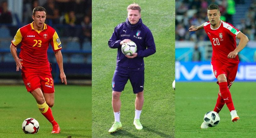 Lazio, ecco i giocatori convocati in nazionale