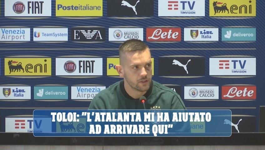 "Toloi: ""L'Atalanta mi ha aiutato ad arrivare qui"""