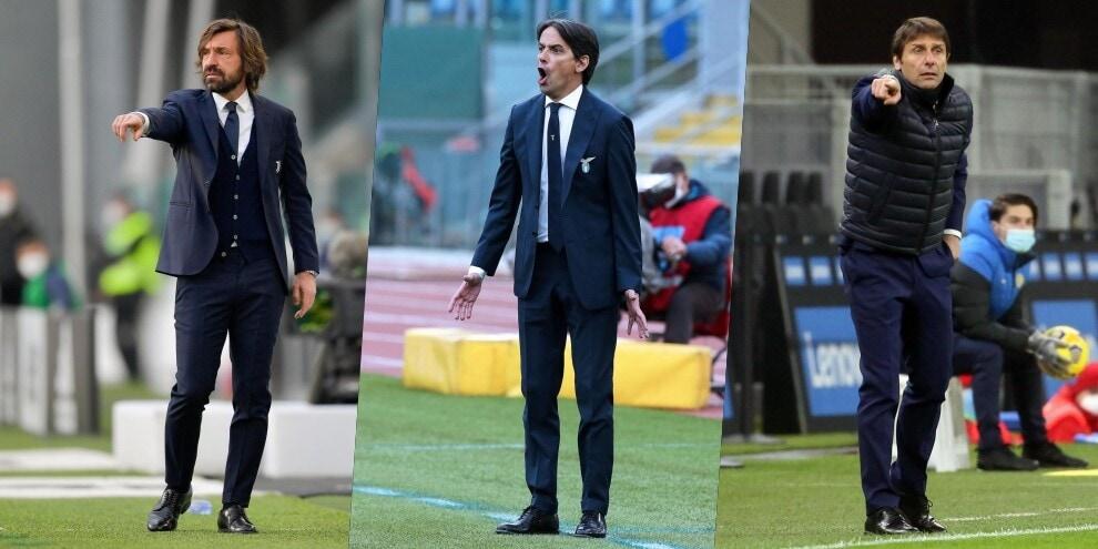 Da Pirlo a Conte e Simone Inzaghi: le scadenze dei tecnici di Serie A