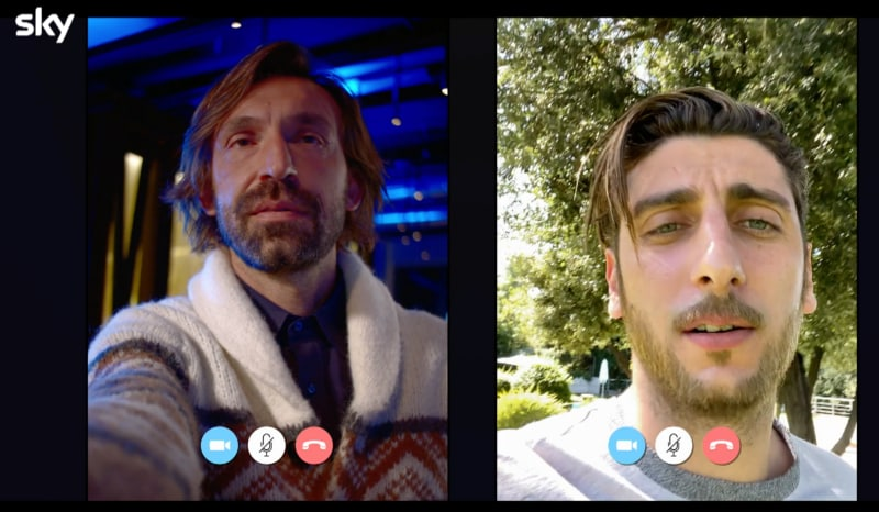 """Speravo de morì prima, Totti chiama Pirlo e Del Piero: """"Ma come si mangia in India?"""""""