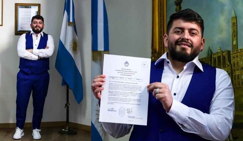 Maradona jr, che gioia per la cittadinanza argentina