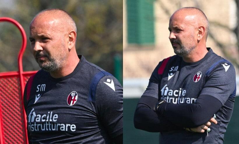 Bologna, lo sguardo severo di Mihajlovic per l'Inter