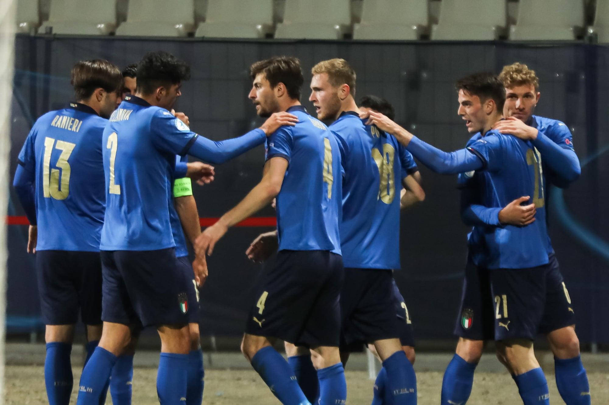 L'Italia U21 è ai quarti dell'Europeo: poker alla Slovenia!
