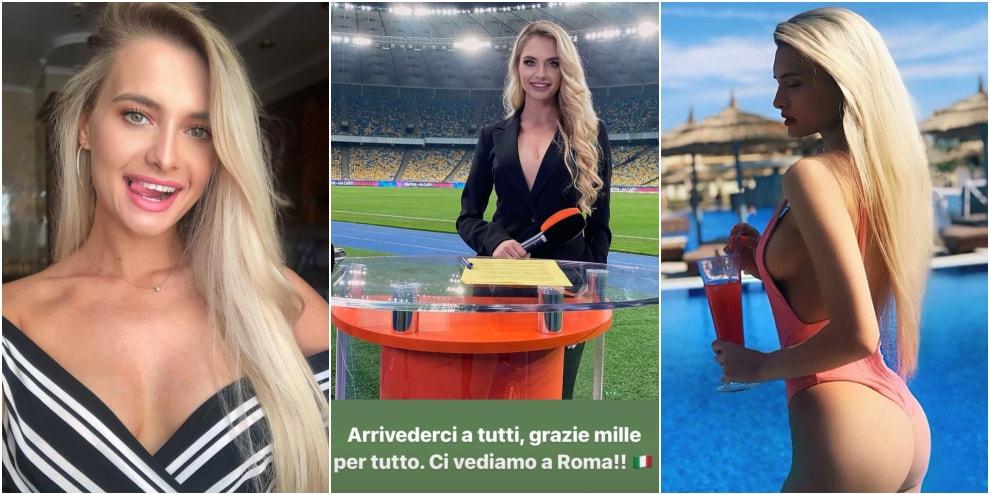 """Olga Kalenchuk e il messaggio che manda in tilt i social: """"Ci vediamo a Roma..."""""""