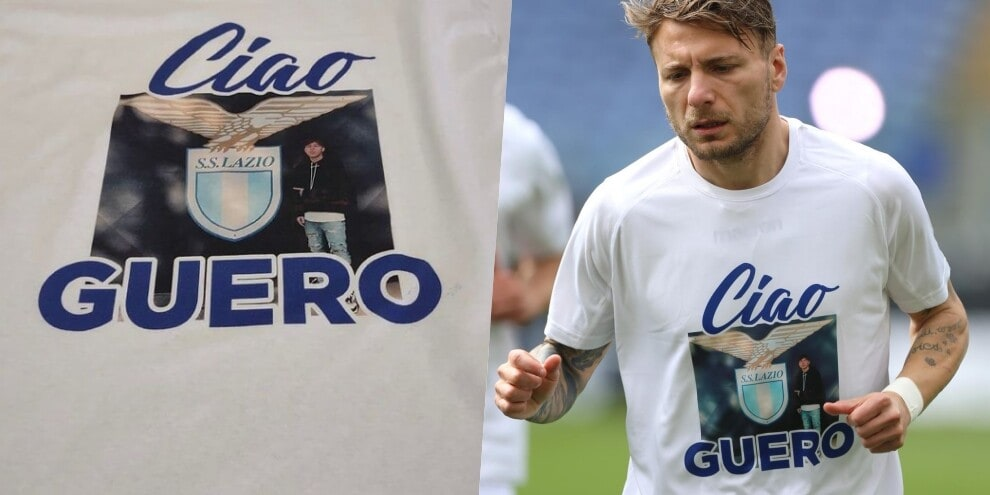 La Lazio ricorda Guerini: ecco la maglia speciale