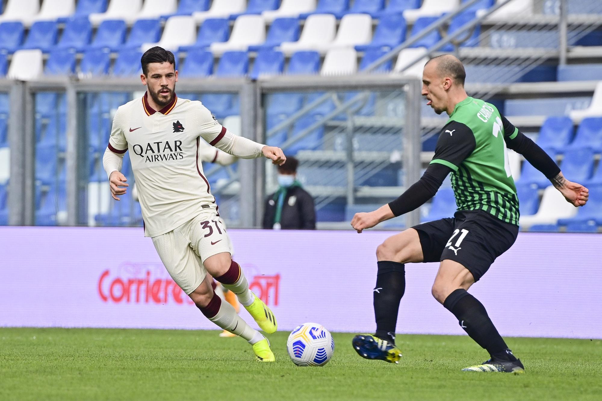 Sassuolo-Roma 2-2: tabellino, statistiche e marcatori