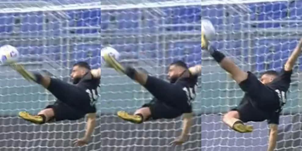 Verde come CR7, rovesciata perfetta: che gol alla Lazio!