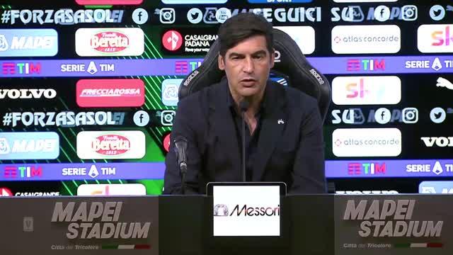 """Fonseca: """"Deluso per il risultato. Champions? Ci crediamo fino alla fine"""""""