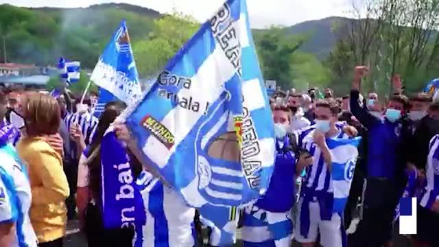Coppa del Re: A San Sebastian tifosi e polizia per la Real Sociedad